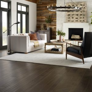 Hardwood Floor of key West windsurf Rustique Vibe Living Room | Jack's Tile And Carpet