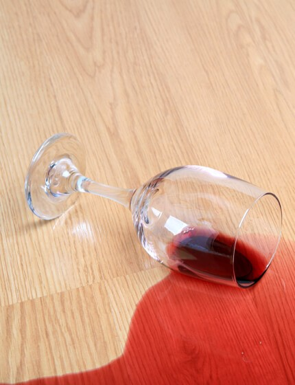 Wine spill on Laminate floor | Laminate Care & Maintenance | Jack's Tile And Carpet