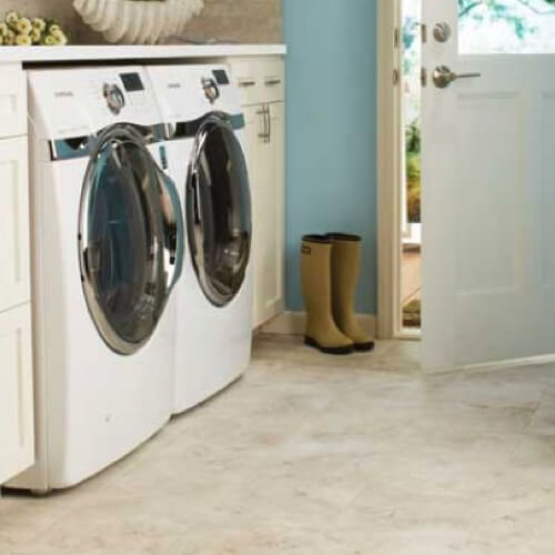 Tile laundry room | Jack's Tile And Carpet