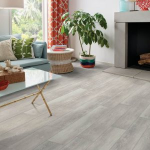 Camargo Oak Rigid Core - Silver Dollar | Vinyl flooring | Jack's Carpet And Tile