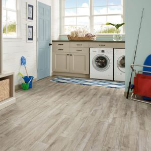 Century Barnwood Luxury Vinyl Tile - Weathered Gray | Vinyl flooring | Jack's Carpet And Tile