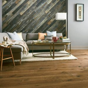 Hickory Engineered Hardwood - Deep Etched Timber Mill | Jack's Carpet And Tile