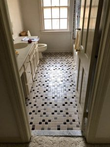 After Bathroom construction -high-quality products | Project Gallery | Jack's Carpet And Tile