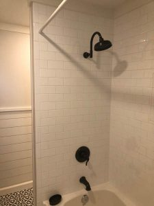 Tiles used on the wall of the bathroom | Jack's Carpet And Tile