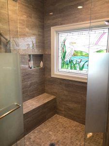 Bathroom construction | Project Gallery | Jack's Carpet And Tile