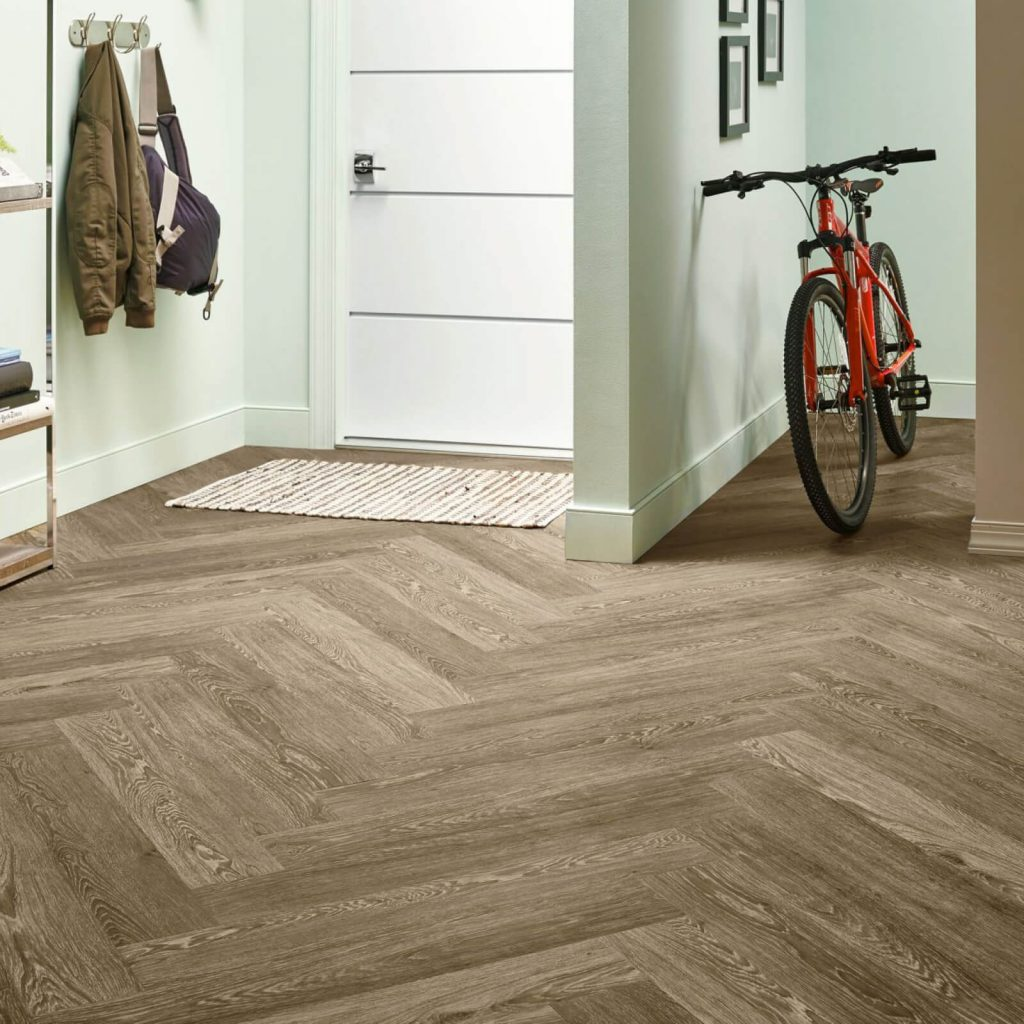 Bicycle on flooring | Jack's Carpet And Tile