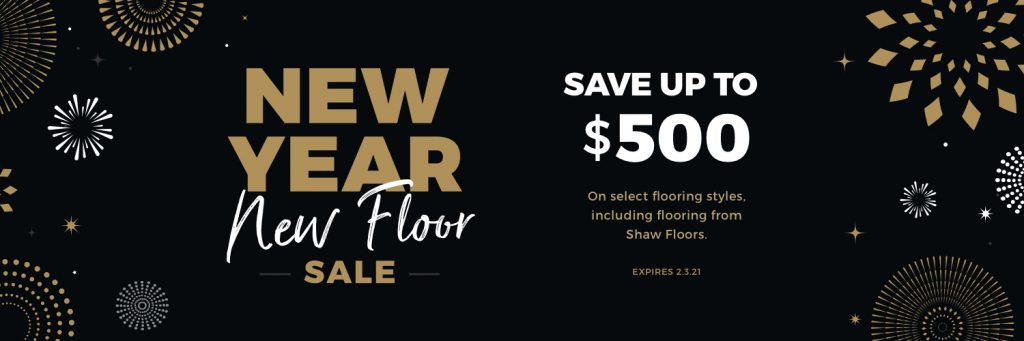 New Year New Floors Sale | Jack's Tile And Carpet