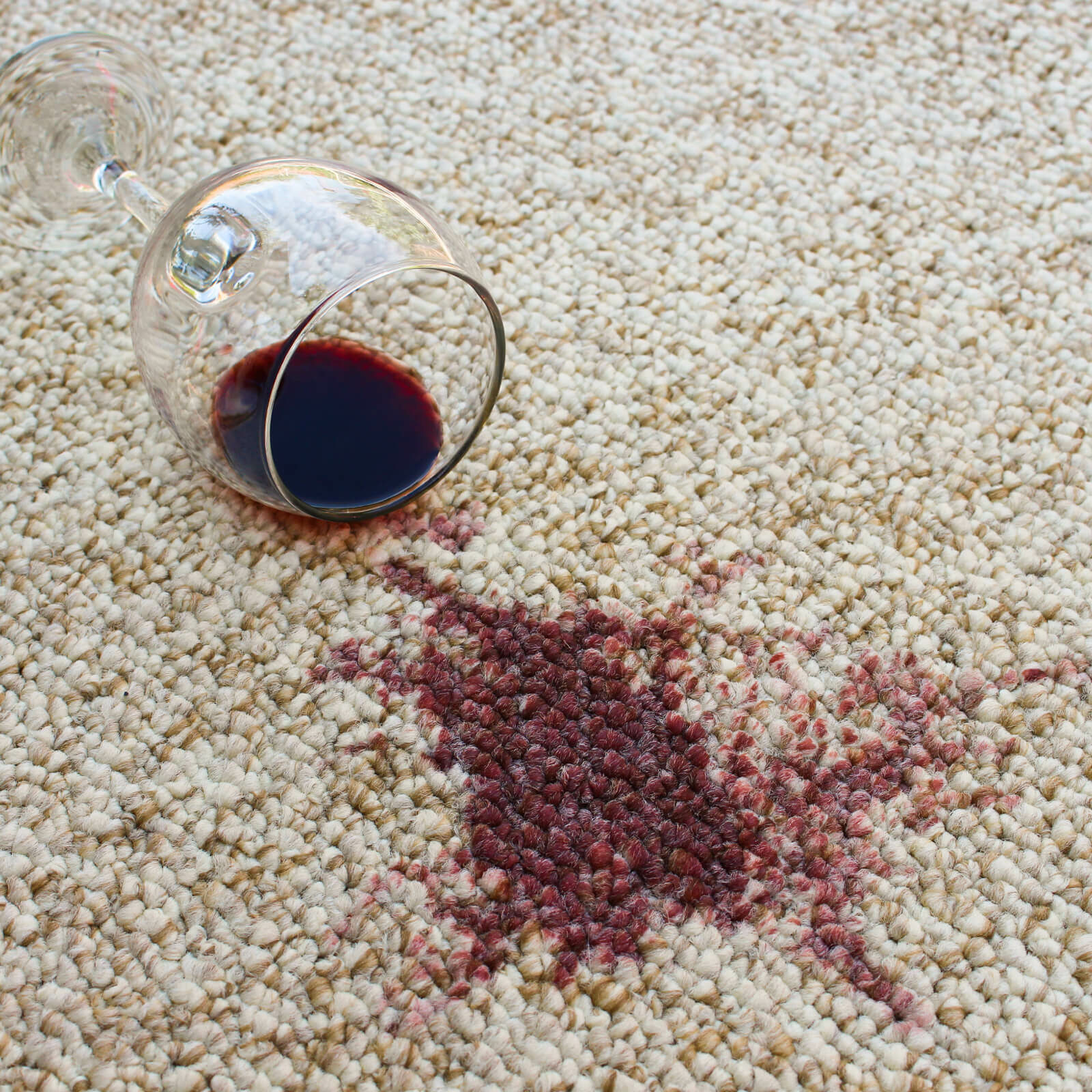 Wine stain on carpet | Carpet Care & Maintenance | Jack's Tile And Carpet