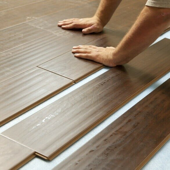 Laminate flooring installation | Jack's Tile And Carpet